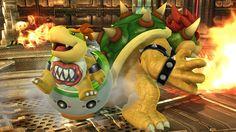 Bowser and Bowser Jr - Super Smash Bros, Wii U