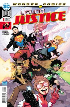 Weird Science DC Comics: PREVIEW: Young Justice #1