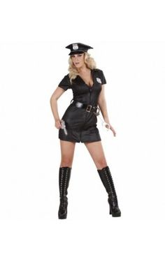 Sexy Lingerie, Plus Size Lingerie, Sexy Halloween Costumes Police Officer Halloween Costume, Sexy Cop Costume, Police Halloween Costumes, Girl Costumes, Costumes For Women, Cosplay Costumes, Career Costumes, Swat Costume, White Costumes