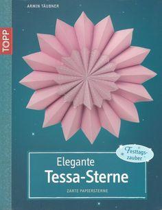 Elegante Tessa-Sterne. Zarte Papiersterne