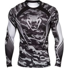 Venum Hero Longsleeve Compression Shirt - Grey