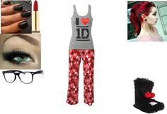 """""""Pj's"""" by michaelag69 ❤ liked on Polyvore"""