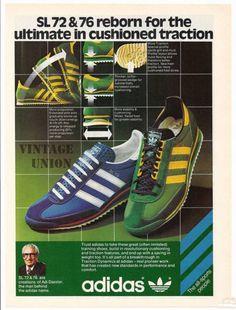 separation shoes 46ddb d96ac Adidas SL 72   SL 76. Adidas Classic Shoes, Classic Sneakers, Adidas Shoes