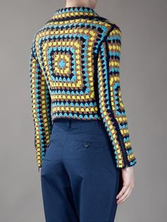 Christopher Kane Crochet Biker Jacket - - Farfetch.com