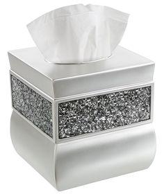 Decorative Tissue Box Cover Mdesign Steel Facial Tissue Box Coverholder For Bathroom Vanity