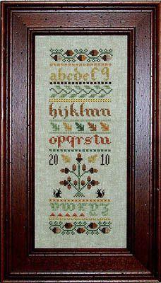 Autumn Sampler - Cross Stitch Pattern