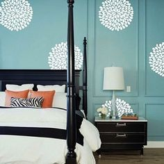Poppy Wall Decals & Floral Wall Decals From Trendy Wall Designs
