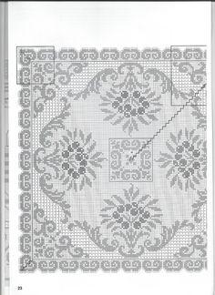 Фотография Cross Stitch Borders, Cross Stitching, Cross Stitch Patterns, Knitting Patterns, Crochet Patterns, Chrochet, Knit Crochet, Filet Crochet Charts, Fillet Crochet