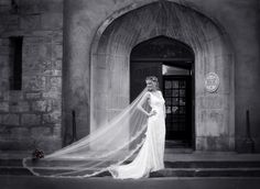 weddings - brenda mcguire photography  love this brides veil