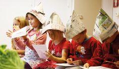 Tulostettavia tehtäviä kasviksista. Preschool, Hats, Hat, Kid Garden, Kindergarten, Hipster Hat, Preschools, Kindergarten Center Management