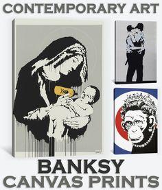 BANKSY - CANVAS PRINT