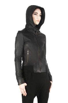 Jan Hilmer x Sparrow Leather Falcon Hoody – FIVE AND DIAMOND