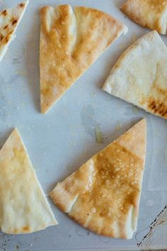 How To Make Homemade Pita Chips. SIMPLE recipe with step-by-step photos!