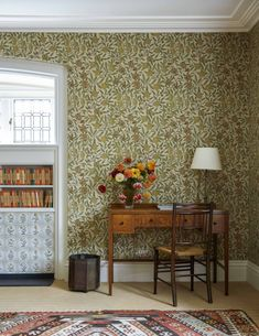 Interior designer Ben Pentreath turns his hand to an Arts and Crafts house - Arts and Crafts house designed by Ben Pentreath William Morris Wallpaper, Morris Wallpapers, Arts And Crafts For Adults, Arts And Crafts House, Home Crafts, Interior Design Tips, Interior Inspiration, Interior Decorating, Design Inspiration