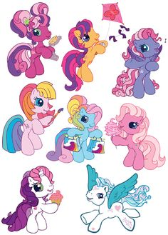 Grafika átlátszó háttérrel - My Little Pony