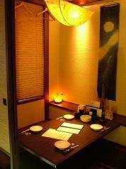 Okayama|岡山(おかやま)|Restaurant|彩食酒屋 火と粋 HITOIK|2~4名様の個室も4室!デートや女性同士で使いやすいね♪