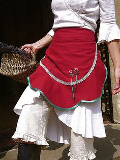 MALPHI APRON sewing kit gift by Verity Hope, via Flickr