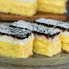 "The cake that e in my cookbook - the cake ""Regina Maria"" Romanian Desserts, Romanian Food, No Cook Desserts, Mini Desserts, Food Cakes, Cookie Recipes, Dessert Recipes, Blueberry Crumble, Cake Bars"