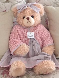 Sarah - from the Settler Bear Company in Australia ..... http://superbabyandted.com