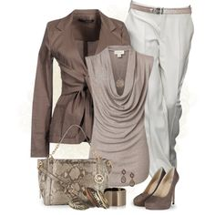A fashion look from March 2013 featuring Witchery tops, Annarita N. blazers and AllSaints pumps. Browse and shop related looks.