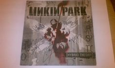 Autographed Linkin Park Promo Poster *Free Shipping*