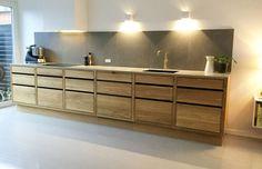 Kitchen Modular, Modern Kitchen Cabinets, Kitchen Units, Diy Kitchen, Kitchen Interior, Kitchen Drawers, Kitchen Ideas, Küchen Design, Interior Design