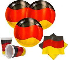 Deutschland Party Deko Basis Set