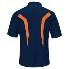 Denver Broncos Men's Team Logo Polo Shirt - Navy Xxl, Multicolored
