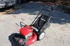 """Troy bilt 21"""" 6.75hp self propelled electric start..or pull start.. bagger , mulch or discharge..fresh oil change ..sharp blade.must go,, garage kept.. runs and starts perfect..cost over 400$new.252-292-1695 $225 USD"""