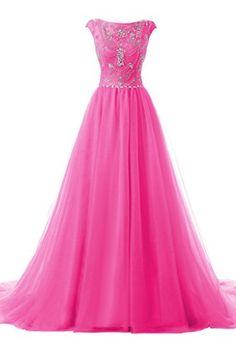 Topdress Women's Cap Sleeve Beaded Long Evening Dress Tul... https://www.amazon.com/dp/B01I9FHMC6/ref=cm_sw_r_pi_dp_x_xHPOxbN9Y5CNW