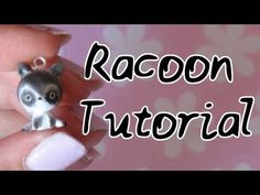 ▶ Racoon Tutorial: Polymer Clay How-To.