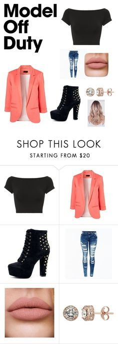 """""""Untitled #165"""" by esher413 ❤ liked on Polyvore featuring Helmut Lang and Diamond Splendor"""
