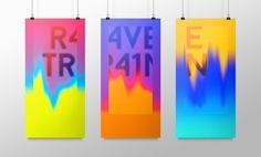 Ravetrain Identity Poster on Behance