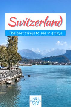 The 4-Day Switzerland itinerary for the Autumn trip includes the discovery of the rural beauty and urban scenes, such as Jungfraujoch, Brienz, and Lucerne. Switzerland travel tips | Switzerland Travel Guide | Switzerland bucket list | Culture Travel | Switzerland Alps| things to do in Switzerland | Switzerland travel guide #EuropeTravel #法国 # Switzerland #beautifulplace # Switzerlandalps #Lucern #Zürich #familytravel #instagrammableplace #Jungfraujoch Switzerland Destinations, Switzerland Travel Guide, Switzerland Itinerary, Switzerland Cities, Lucerne Switzerland, Road Trip Packing, Road Trip Europe, Road Trip Destinations, Europe Travel Guide