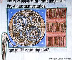 Psalter, MS G.25 fol. 56r - Images from Medieval and Renaissance Manuscripts - The Morgan Library & Museum