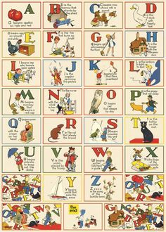 Cavallini & Co. ABC English features reproductions of vintage alphabet printed on fine, high quality laid paper. Use in your next creative project. Abc Poster, Poster Prints, Alphabet Charts, Abc Alphabet, English Alphabet, Childrens Alphabet, Alphabet Posters, Alphabet Print, Vintage Wrapping Paper