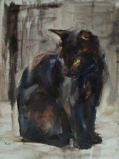 Black Cat #2 ~ Yael M.