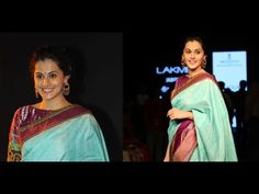 Taapsee Ramp Walk Stills at LFW 2015 Show