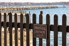 The property fence between the House of Seven Gables and harbor, Salem, Mass.         Yankee Magazine online