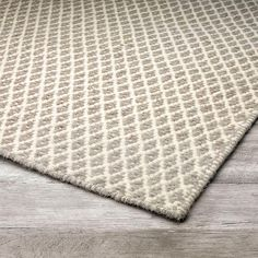 Hand woven using 100% wool, the reversible Rimini rug is versatile and beautiful for it's intricate diamond patterning and natural appearance that will appeal in most design schemes.Materials:100% WoolConstruction:Hand WovenColour:StonePantone Colour:Taupe(16-0906), Ivory(11-0701)Available in one size:5' x 8' (152cm x 243cm)