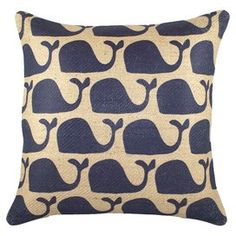 I'm loving whales right now - especially for kid room decor/accent.