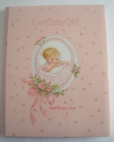 Vintage 1981 Baby Book, Birth to Seven Years for Baby Girl on Etsy, $24.00