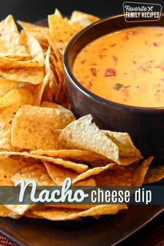 Easy Nacho Cheese Dip is spicy, gooey and comes together in just two simple ingredients! The perfect party dip, game day appetizer, or Friday night snack fix. Homemade Nacho Cheese Sauce, Homemade Nachos, Chili Cheese Dips, Cheese Dip Recipes, Nacho Cheese Velveeta, Tamales, Quesadillas, Empanadas, Enchiladas