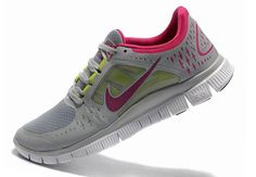 92f8de552db Nike Free 3 Grey Pink Women Shoes Sale   65.44 Online Outlet Stores