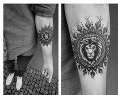 40 Powerful Lion Tattoo Designs | http://www.berlinroots.com/powerful-lion-tattoo-designs/