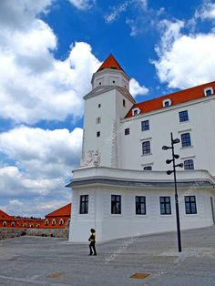 Bratislava Slovakia, Fortification, Old Town, Birds In Flight, Editorial Photography, Graphic Illustration, Jun, Tourism, Castle