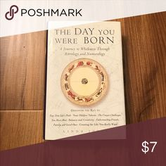 """✨The Day You Were Born. Astrology Book✨ Hardback. No damages. """"A Journey to Wholeness Through Astrology and Numerology. Discover The Key To: your true life's path, your hidden talents, the unique challenges you must meet, balance and creativity, understanding friends, family, and loved ones, and creating the life you really want.""""Written by Linda Joyce. Other"""