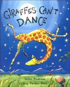 Giraffes Can't Dance - I found this at the Goodwill today and was drawn to the colors and art.  I meant to skim through it to see if I liked it but ended up reading it all and loving it!