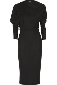 Stunning. Bottega Venetabrushed-wool jersey dress