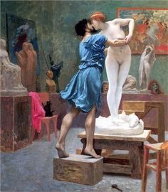 Jean-Leon Gerome Pygmalion and Galatea 2 oil painting for sale; Select your favorite Jean-Leon Gerome Pygmalion and Galatea 2 painting on canvas and frame at discount price. Gustav Klimt, Frederick Leighton, Jean Leon, Art Gallery, Pre Raphaelite, Caravaggio, Greek Mythology, Paintings For Sale, Oil Paintings